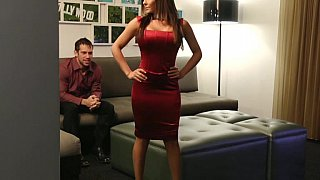 Lady in Red gets fucked Thumbnail