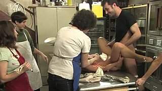 India Summer gets humiliated on a kicthen table Thumbnail