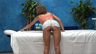 18 year old massage girl Natasha showing pussy Thumbnail