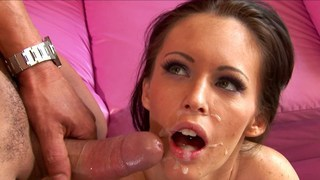 Real whore plays the mouth organ