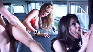 Stoya and Katsuni fuck the magic school bus Thumbnail