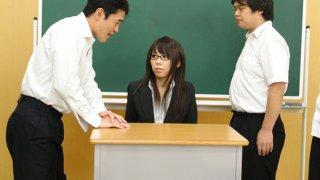 Hot teacher Maho Sawai gets rammed at school Thumbnail
