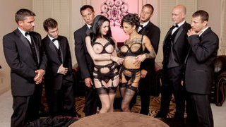 The Secret Soiree: Six-Man Gangbang Thumbnail