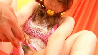 Bondaged Asian cutie Miku Airi gets her pussy stimulated with a vibrator Thumbnail