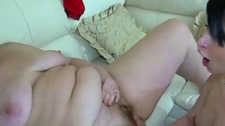 OldNanny Fat mature and young pretty girl is enjoy