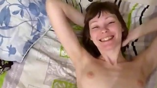 Russian Housewife Cock Play POV Thumbnail
