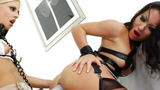 Red hot Jessie Volt and Asa Akira toying Thumbnail