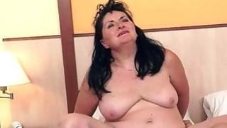 Young man fucking fat granny Thumbnail