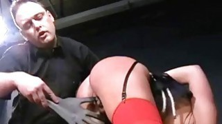 Cruel sexual punishment and spanking of blonde Cry