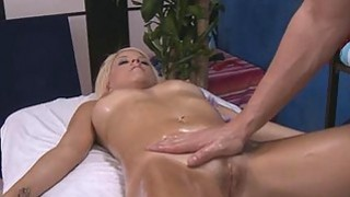 Jerking off beautys twat turns her into a slut Thumbnail