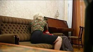 Russian Granny And Her Young Lover Thumbnail
