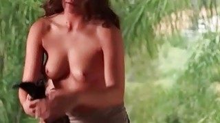Dream naked babe getting her quim licked to orgasm Thumbnail