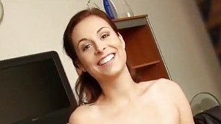 Eurobabe picked up and nailed for money Thumbnail