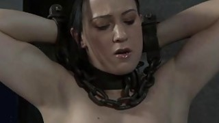 Masked gal with exposed cunt acquires drubbing Thumbnail