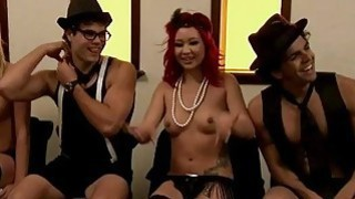 Singles nasty games in Foursome mansion Thumbnail