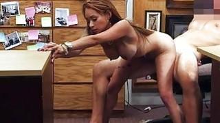 Big boobs amateur nailed by pawn keeper Thumbnail