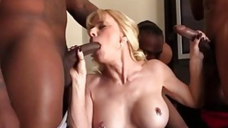 Cammille Gets Her Pussy Banged By Black Guys