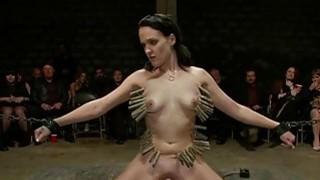 Bondman receives a group torture for her twat Thumbnail