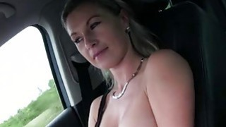 Teen Alena pays sex to a pervy driver Thumbnail