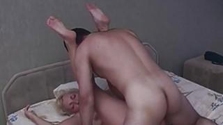Horny Blonde Stepmom Taking Stepsons Cock Thumbnail