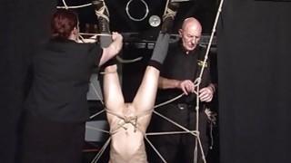 Restrained bondage babe Elise Graves lesbian Thumbnail