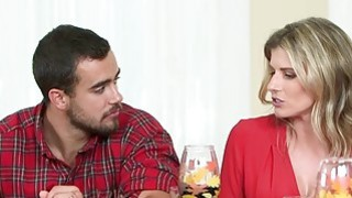 Thanks For Giving starring Sydney Cole and Cory Chase Thumbnail