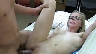 Pretty babe gets deep gratifying from man