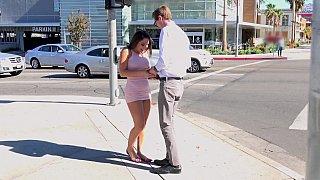 Abella Feels Wet & Happy To Meet Her Tall Boyfriend Thumbnail