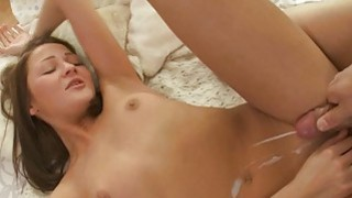 Sleeping gal is awaken by boy for mindblowing sex Thumbnail