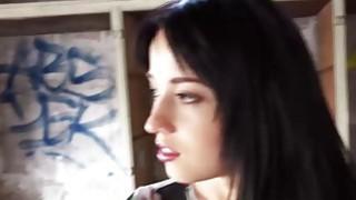 Hot brunette Russian teen Taissia Shanti fucking for money