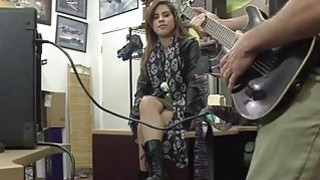 Pretty rockstar Lilith Shayton turns into pornstar when she get banged hard in the pawnshop Thumbnail