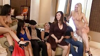 Singles fucking in Foursome mansion after erotic game Thumbnail