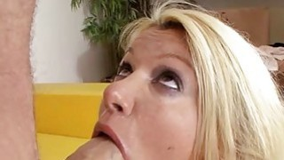 Chick is delighting mate with raucous sucking