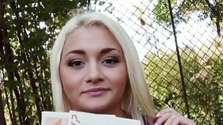 Czech babe Alive Bell pounded for cash