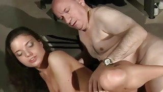 Tight Beautiful Teen Pussy Fucked By Fat Old Step Thumbnail