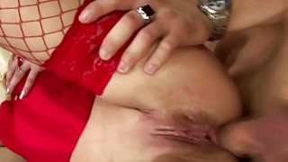 Mature lady gets her ass creampied Thumbnail