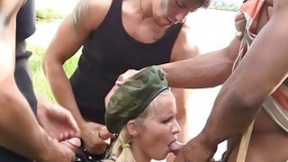 Gangbang military porn video xxx Thumbnail