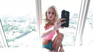 Uma rides out her boyfriends big cock Thumbnail
