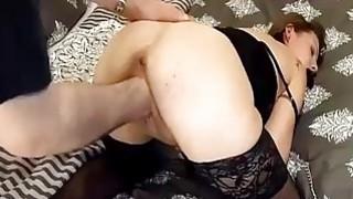 Brutally fisting his slut girlfriend in bondage Thumbnail