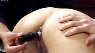 Asian babe gets her asshole toyed and fucked well Thumbnail