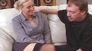 Tall Big Tit Teacher Joey Lynn Fucks Porno Student Thumbnail