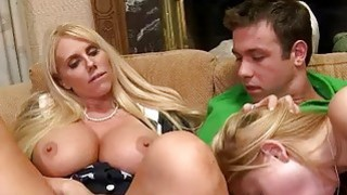 MILF Karen Fisher and Molly Bennett threesome Thumbnail