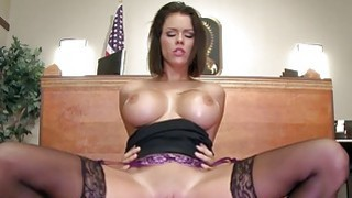 Brazzers  Peta Jensen gets some lawyer dick Thumbnail