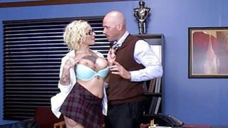 Brazzers  Dirty school girl Harlow Harrison Thumbnail