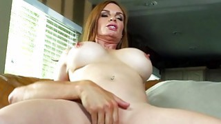Brazzers  Dirty milf Diamond Foxx fucks stepson
