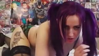 Purple Haired Nerd