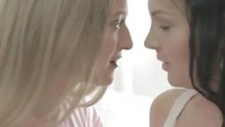 Sex sex sex Naughty teen ladies share a boyfriend