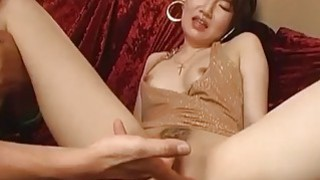 Kinky Tanaka gets fisted toyed and fucked hard in different poses Thumbnail