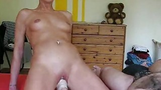 Horny housewife gets her daily fisting training Thumbnail