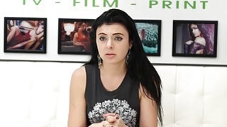 Cute teen Kallie Jo getting hard molested on a casting set Thumbnail